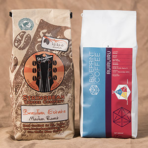 2 bag per month coffee subscription box