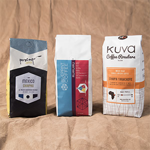 3 bags per month coffee subscription